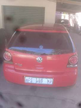 Polo vivo 2013 driving good,red colour and manual transmission