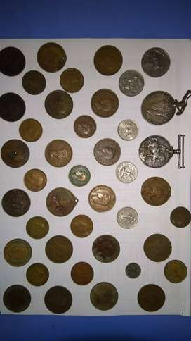 Old variety of coins