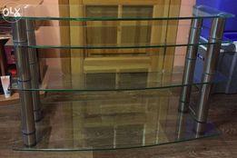 Продам стеклянную подставку (тумбу, полку) под LED ТВ до 63 дюймов