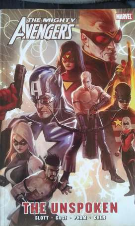 The mighty Avengers - The unspoken comic book