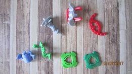 Комплект игрушки из киндер-сюрприза разные запчасти некомплект