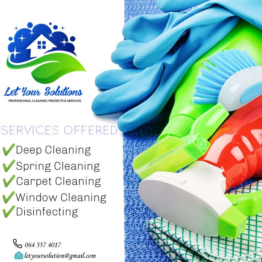 Let your solutions cleaning services