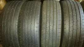 4 (set) of Continental Tyres, 255/70/R16