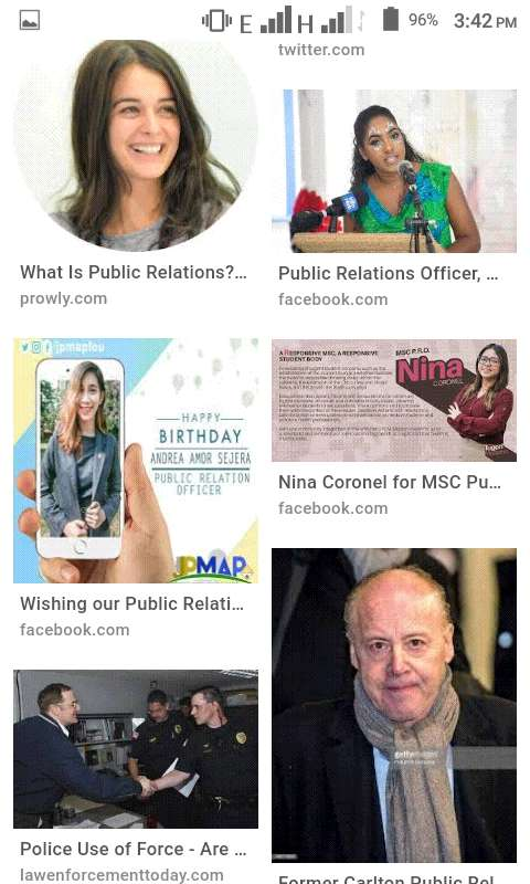Public Relation Officers 0