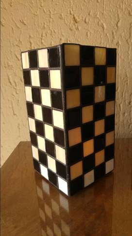Stained Glass Candle holder (Large)