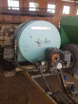 TRAILER 30m HIGH PRESSURE HOSE WITH SPRAYGUN