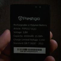 Батарея Prestigio MultiPhone 5517 3000mA 3.8V