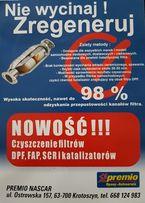 Regeneracja czyszczenie filtrów DPF FAP SCR I KAT