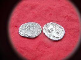 Монета Денарий Комод- М Аврелий Срибло Рим