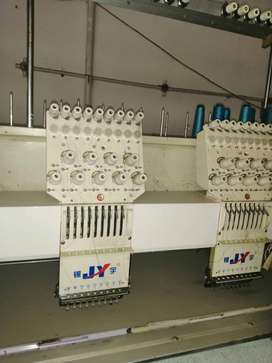 Embroidery Machines - 12 head Industrial