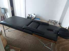 Leather Spa/Salon bed