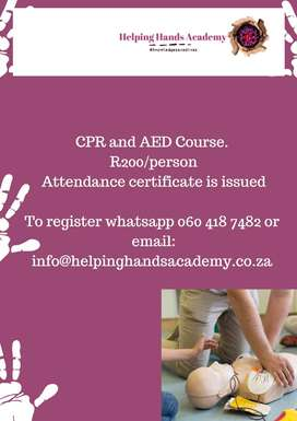 Virtual CPR and AED Course