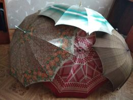 Зонт-трость ссср ретро винтаж