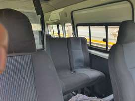 2.5 D4D van radio and seat covers