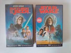 Star Wars Movies on Video Tape. R40 each.