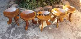 Round the Fire Ethiopian Chairs (H370mm D350mm) R295 EACH