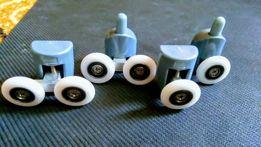 Ролики для душевых кабин и гидробоксов 25 мм. диаметр.