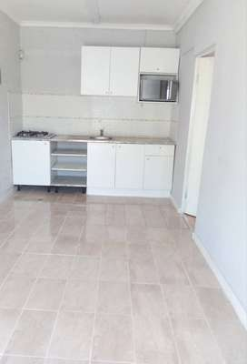Granny flat with separate entrance, living area open plan kitchen.
