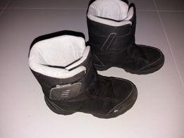 Kozaki czarne/śniegowce