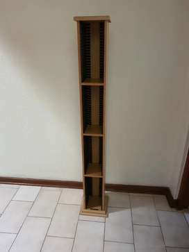 Wooden CD Stand - 80 CDs