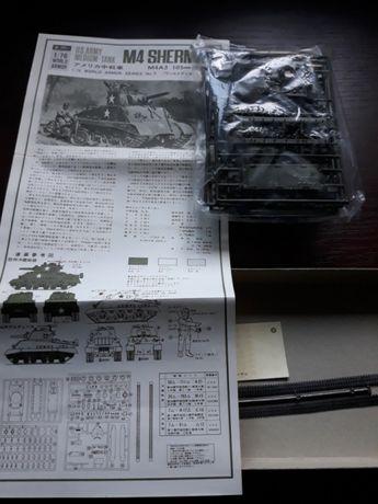 Model Fujimi czołg M4 Sherman, kolekcja 1973rok Stanisławów Pierwszy - image 7
