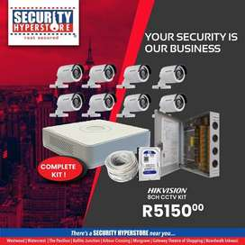 Security Hyperstore (8 CH Hikvision Camera Kit)