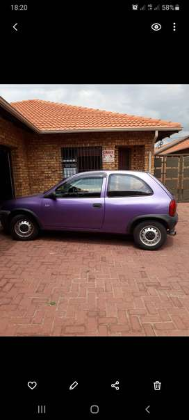 Year model 1999 opel corsa lite