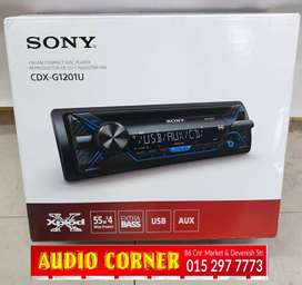 Sony Car Radio With USB Aux FM CD