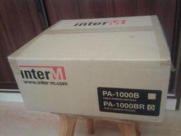 PA-1000BR (INTER-M) Усилитель с тюнером, 30 ВТ - 100-вольтовый