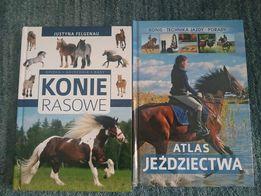 2 książki o tematyce jeździeckiej