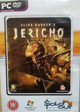 PC DVD ROM SHOOTER GAME JERICHO