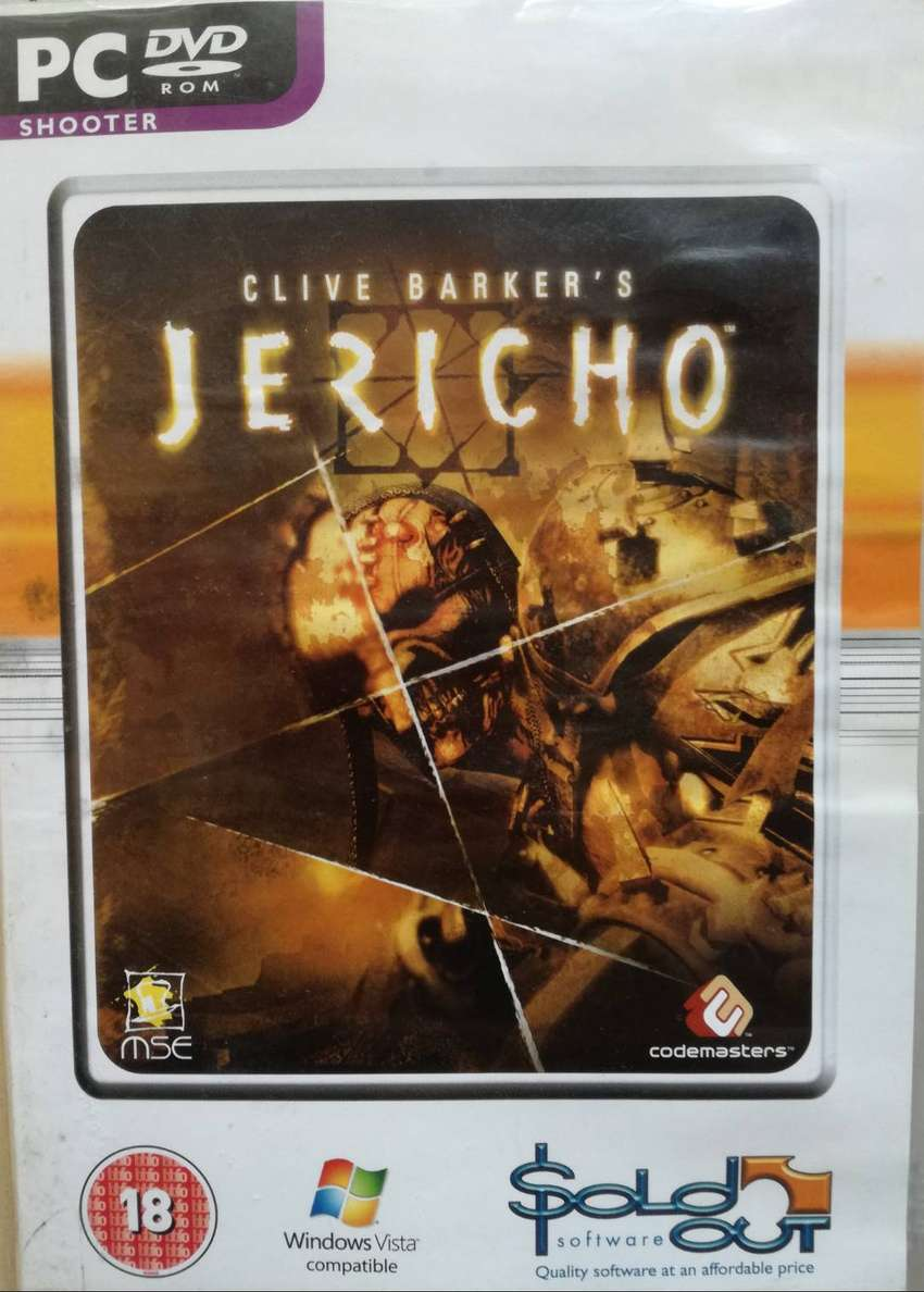 PC DVD ROM SHOOTER GAME JERICHO 0