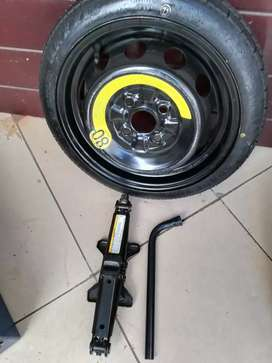Kia Picanto Original Space  Spare Wheel New Tyre Jack and W/Spanner