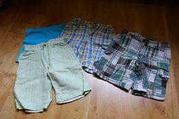 Spodenki chłopięce 5-6 lat (4 pary)