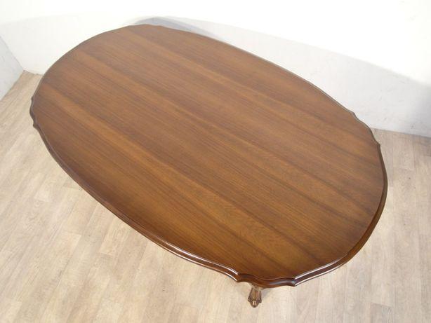 Rzeźbiona stylowa ława, stolik kawowy Ludwik Filip w idealnym stanie ! Łódź - image 8