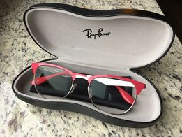 Okulary oprawki Ray Ban RB6346 malinowe