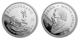 2017 silver Kruger coin for sale with certificate