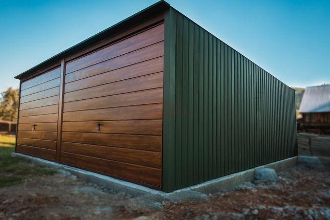Garaż blaszany 6x6m Grafit |Garaże blaszane| Wzmocniony Raciechowice - image 7