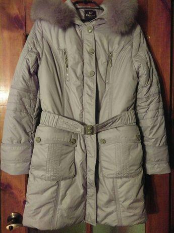 Зимняя курточка пальто 50 размер новая серая Конотоп - изображение 2