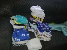 PRE LOVED CLOTH DIAPERS