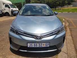 2018 Toyota Corolla 1.6  Prestige Automatic with leather seats
