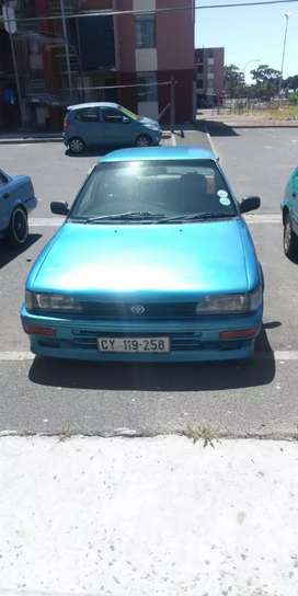 Toyota bubble 12 valve 1.3 carb in good condition