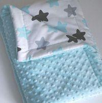 Плед из плюша минки, одеяльце плюш-хлопок, конверт на выписку