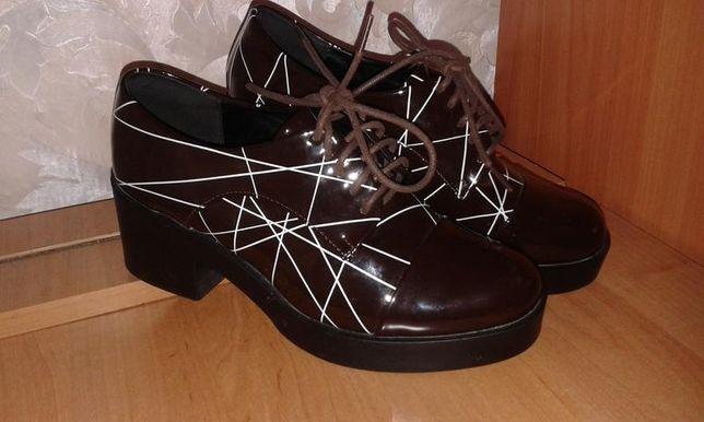 Модные лаковые ботинки Винница - изображение 3