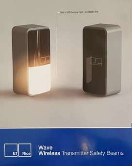 Safety Beams Wireless with Gate Light New for Gates and Garage Doors