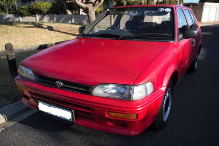 1998 Toyota Tazz 1300cc for Sale! 0