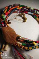 Плету расточки и браслеты из ниток