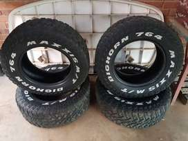 Maxxis M/T 4x4 tyres