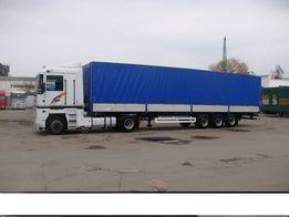 Попутные грузоперевозки до 22 тонн по Украине, вантажні перевезення