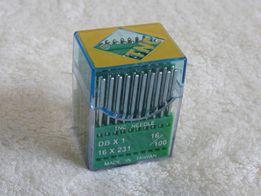 Голки (иглы) для швейних машин TNC DBx1 16/100